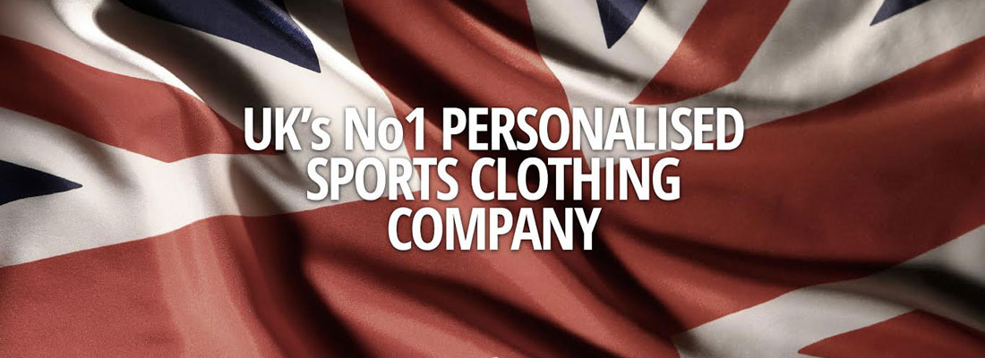 UK's No 1 Personalised Sports Clothing Company