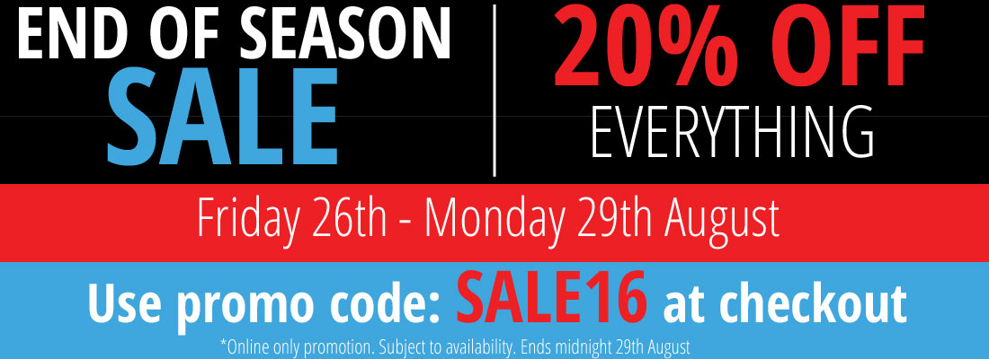 August Bank Holiday Flash Sale